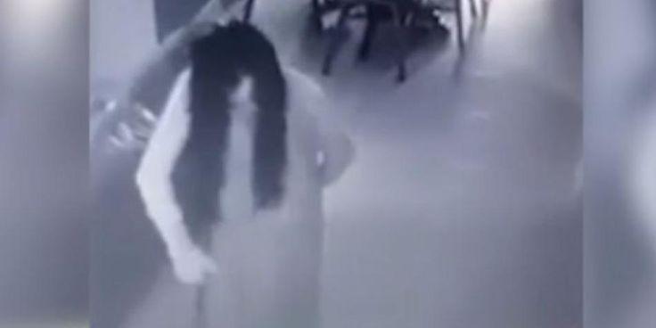 videos de terror captados por camaras de seguridad