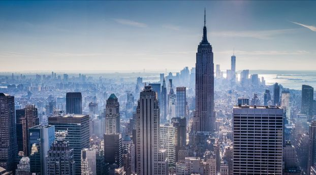 City Buildings Skyscraper View Hd Wallpapers 4k Wallpaper And Backgrounds Wallpapers Designs View Wallpaper City Wallpaper New York