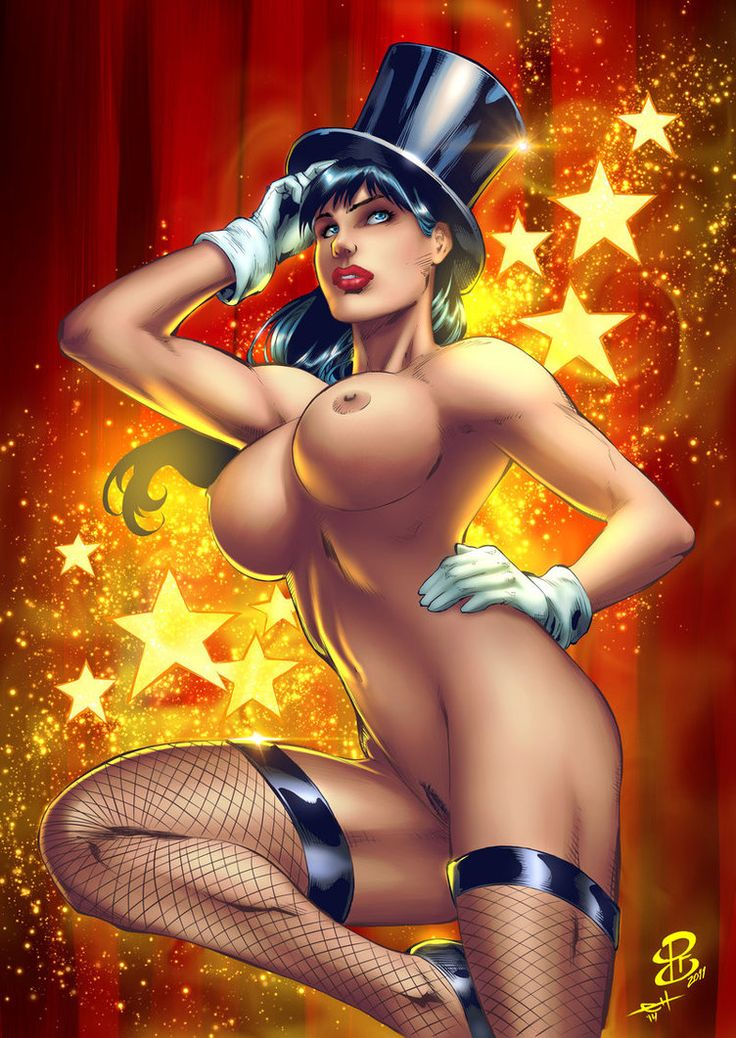 Advise Zatanna porn art really