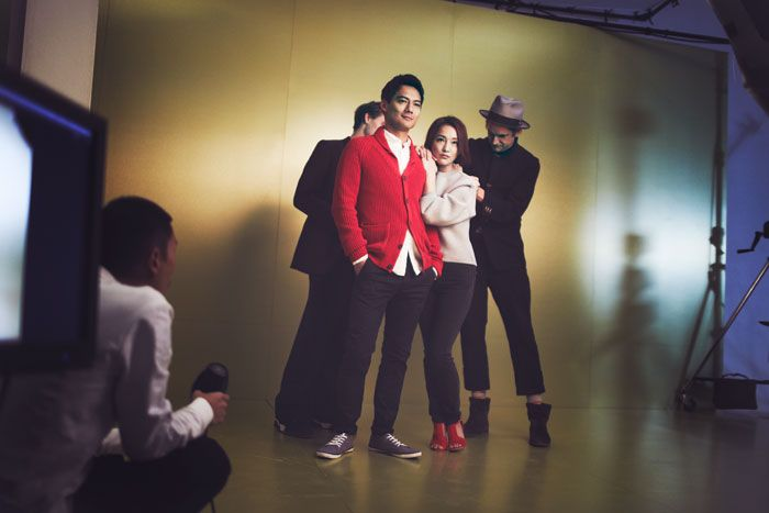 Zhou Xun & Archie Kao for H&M Chinese New Year 2015 Campaign [BTS]