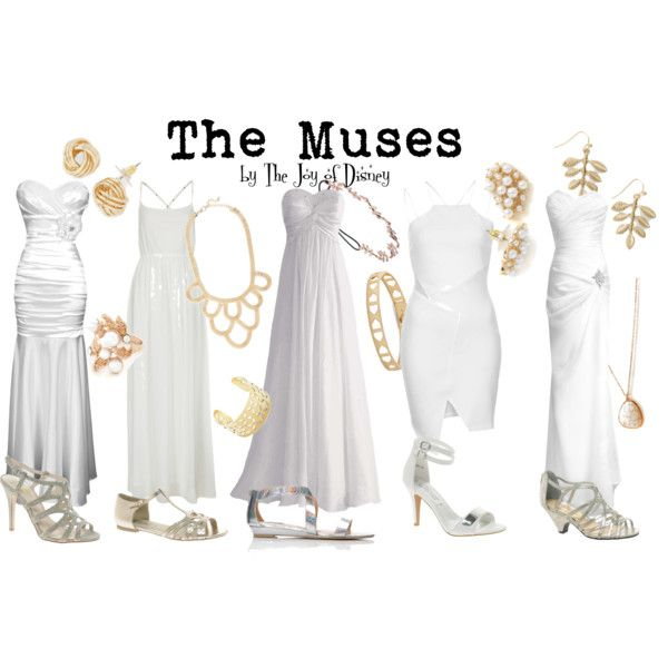 """The Muses (Hercules)"" by thejoyofdisney on Polyvore"