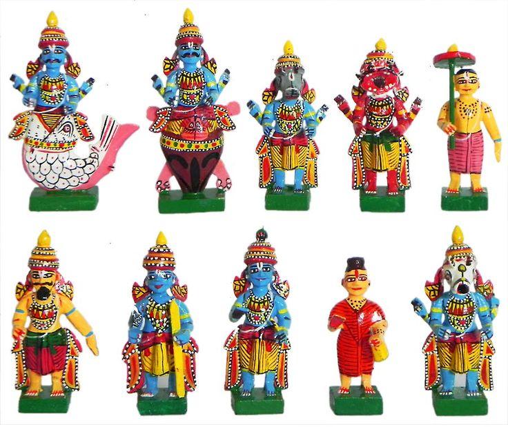 Dashavatar - Kondapalli Dolls (Wood))