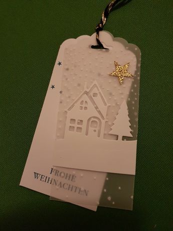 # # Christmas Gift Tags  – Stampin Up