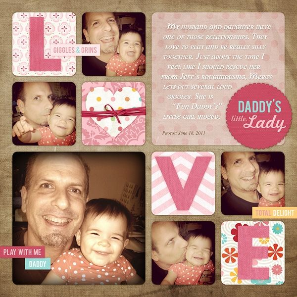 images of dance scrapbook layout | ... love this series of photos of them having fun layout uses loving