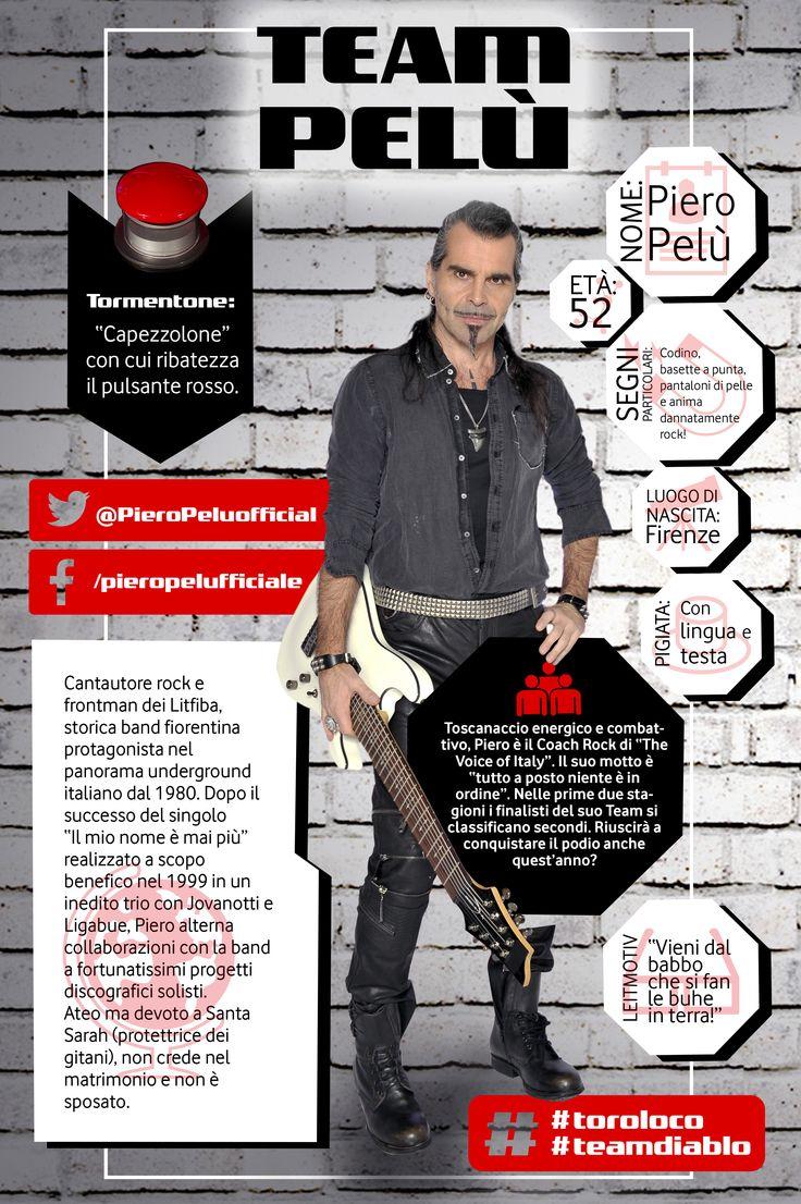 Piero Pelù #toroloco #teamdiablo #tvoi