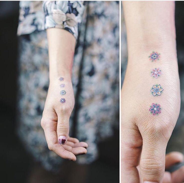 Flower pattern idea