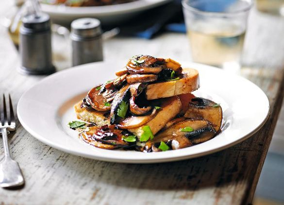 Mushroom brioche toasts recipe by Marks and Spencer