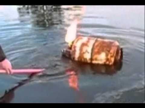 Funny Joke - Redneck Shoots Propane Tank