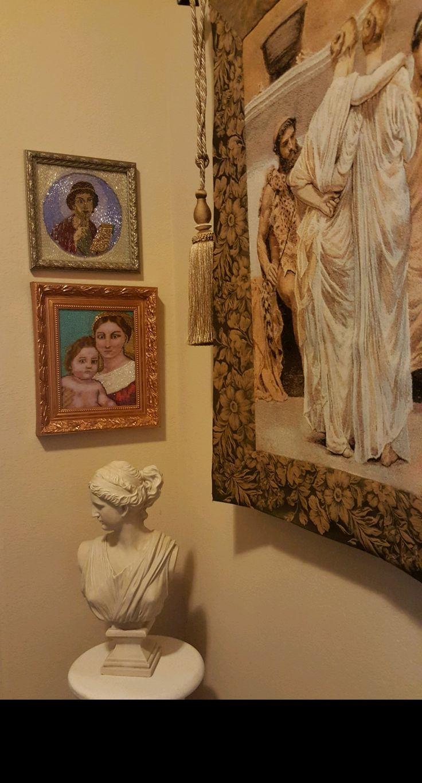 my art work at interior /мои художественные работы в интерьере