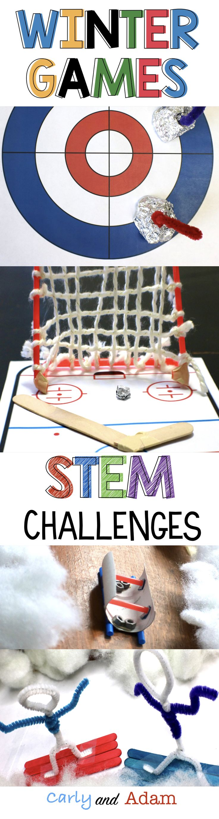 Teach students about the Winter Olympics in a hands on way with STEM! (Winter Ol...