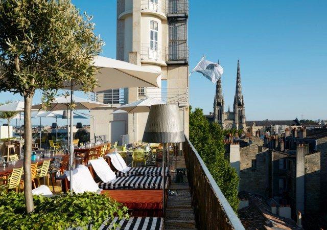 restaurant toit terrasse panorama bordeaux