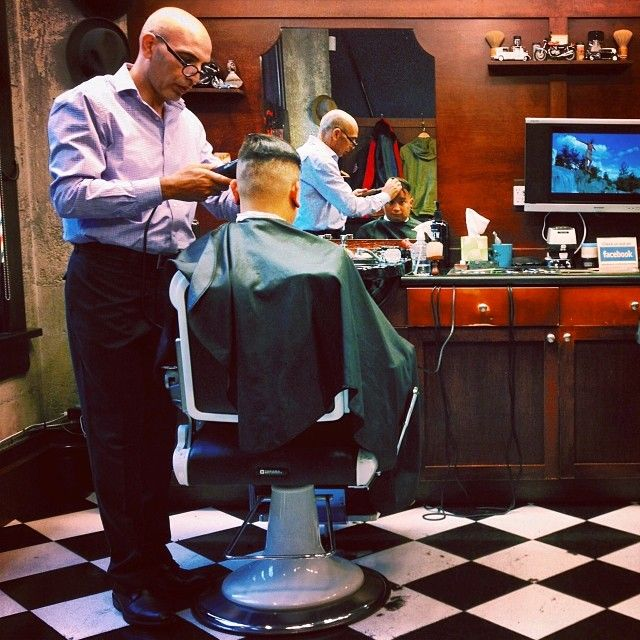 Friday afternoon at the barber shop....  #haircuts #shaves #mensgrooming #barber #barbershop #yaletownbarber #farzadthebarber #yaletown #vancouver Read more at http://web.stagram.com/n/barberboss/#KeV5ZKLT1VxSKito.99 -@Farzad's Barber Shop (Shelley Salehi) 's Instagram photos | Webstagram - the best Instagram viewer