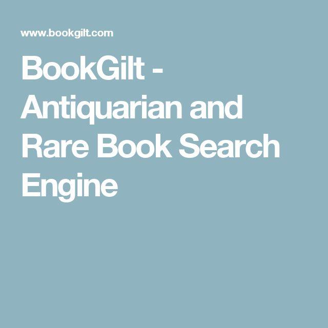 BookGilt - Antiquarian and Rare Book Search Engine