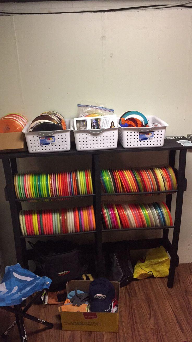 Diy disc golf rack disc golf gifts golf humor disc golf