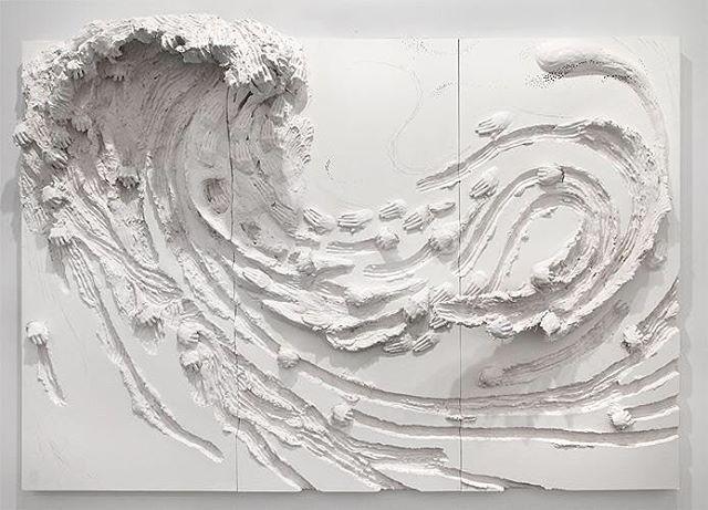 Wave by David Altmejd #davidaltmejd