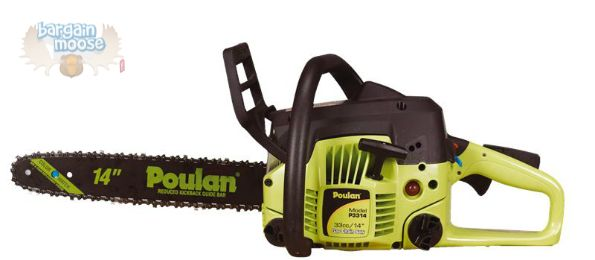 Poulan Chainsaw from Princess Auto