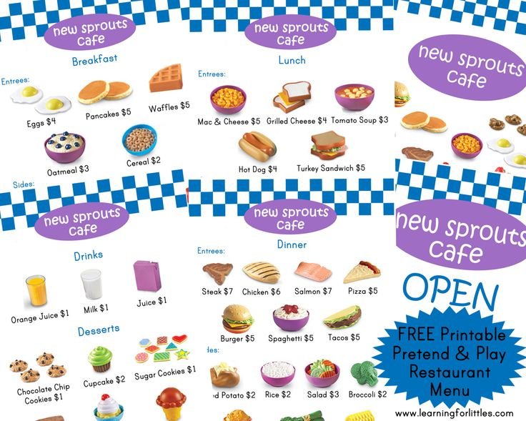 Free Menu Templates Microsoft Word World of Printable and Chart