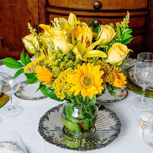 Costco 100 For Yellow Mountain Bouquet Growers Choice 10 Bouquets 150