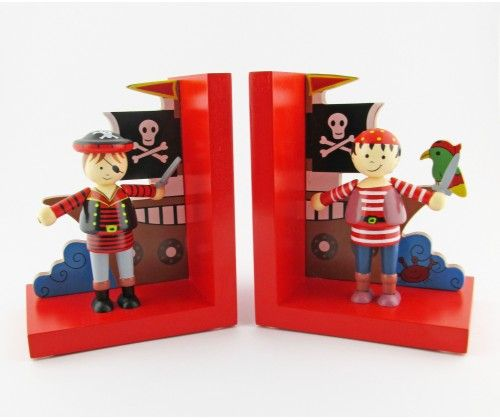 Pirate Book Ends