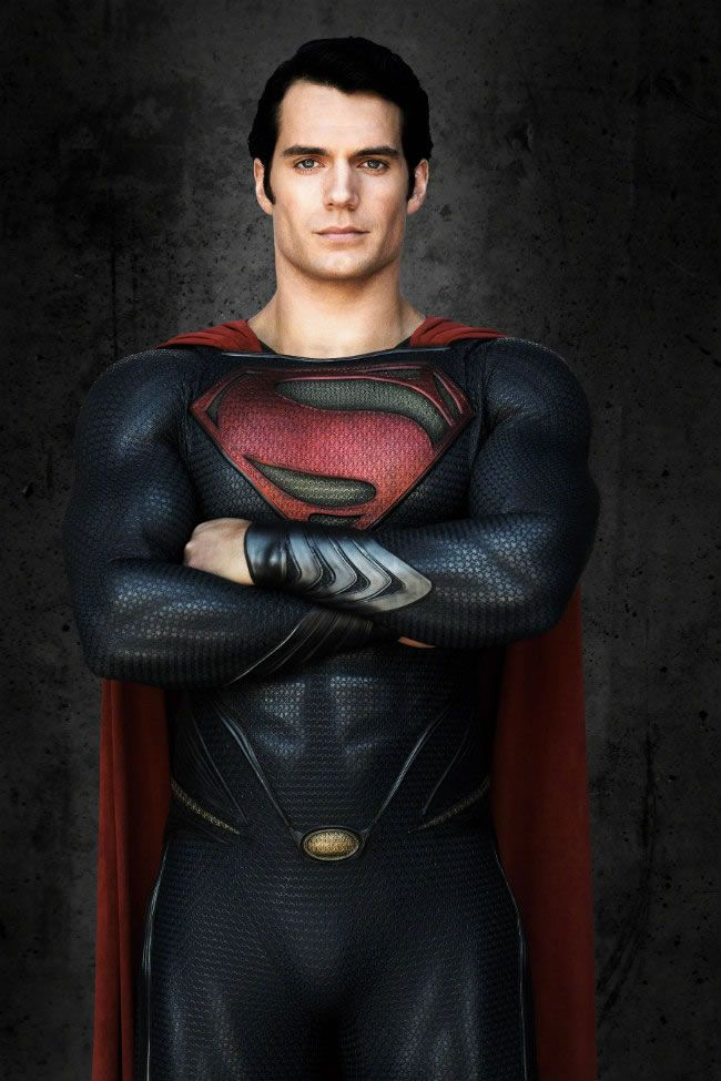 Henry Man of steel, here hold my pants....