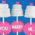 Cakepops BodaCake Recipe, Wedding Propos, Married Me, Wedding Cakes, Bridal Shower, Pies Pop, Wedding Cake Pops, Marshmallows Pop, Cake Pop Recipe