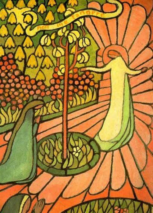 'NOLI METANGERE, St Germain en Laye M PRIEURE', öl von Denis Maurice (1870-1943, France)