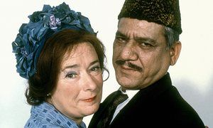 Linda Bassett and Om Puri in 1999 film East Is East.