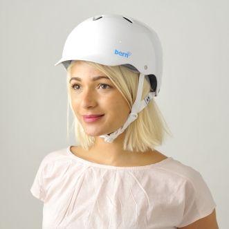 Bern Lenox EPS Gloss White - bicycle helmet