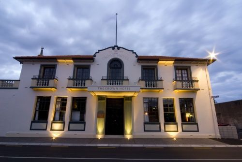 Heritage Side of The Crown Hotel http://www.thecrownnapier.co.nz