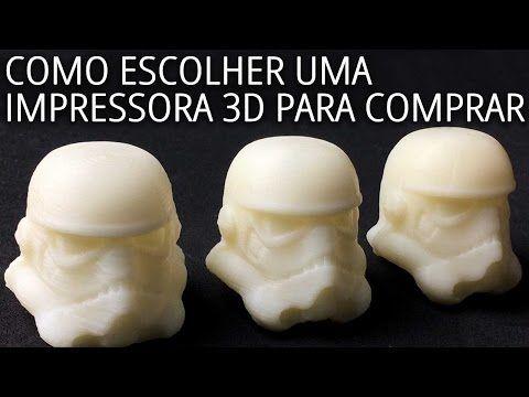 Como escolher uma impressora 3D para comprar? - YouTube