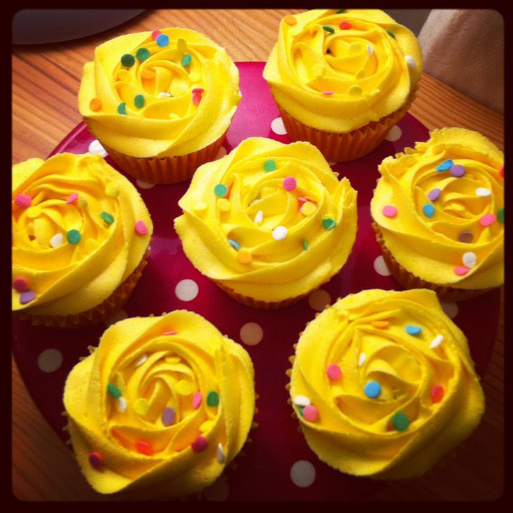 Children In Need Pudsey bear Cupcakes!
