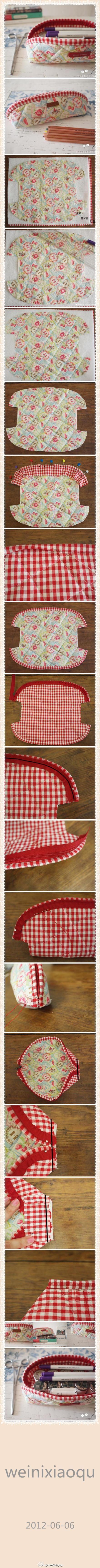 Cute zippered pouch