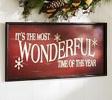 Its the Most Wonderful Time of the Year Sign