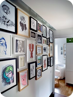 How To Hang Multiple Pictures On Wall 13 best multiple wall frame hanging images on pinterest | hang