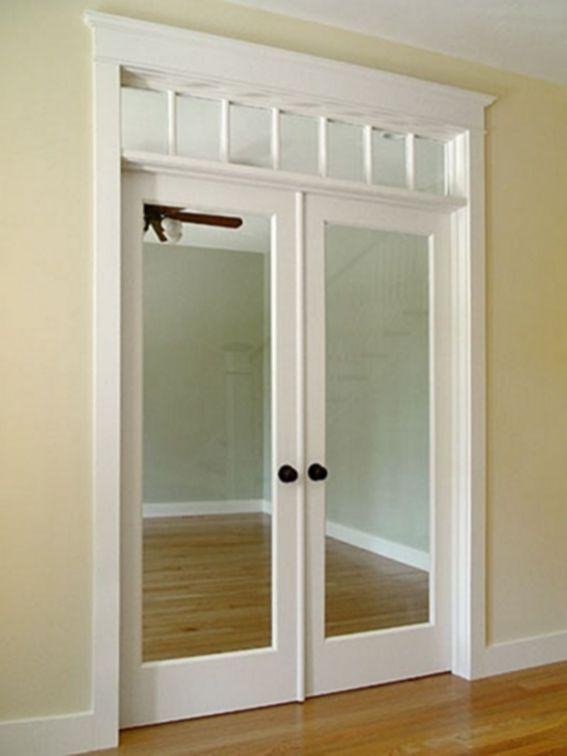 Interior Transom Windows Above Doors4 French Doors Interior Diy Interior Doors Doors Interior