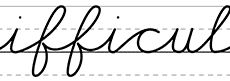 Handwriting Practice - WorksheetWorks.com *best one I've used so far, I can fit large verses of hymns for copywork*