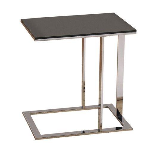 Whi Modern C Table With Smoked Glass Top Ideias Para Mobilia
