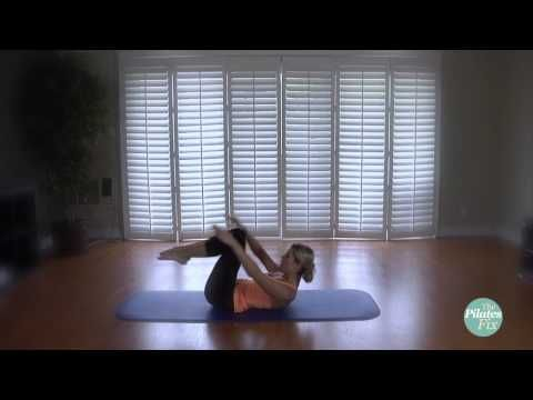 ▶ Mat Madness- 10 Minutes of Advanced Pilates Mat - YouTube