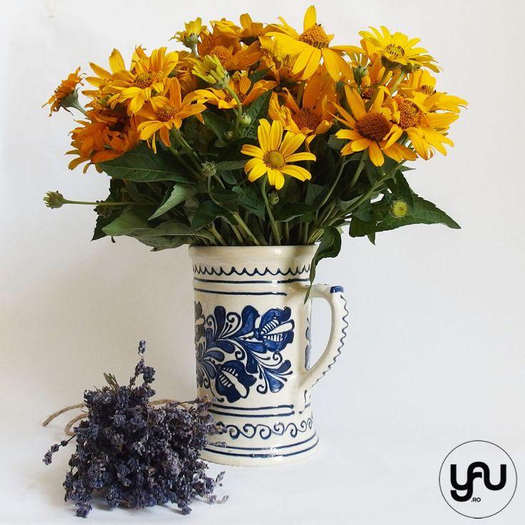 Flori de vara RUDBECKIA si LAVANDA | YaU Concept BLOG