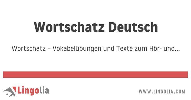 Wortschatz – Vokabelübungen und Texte zum Hör- und Leseverstehen Deutsch – Filiz Koc
