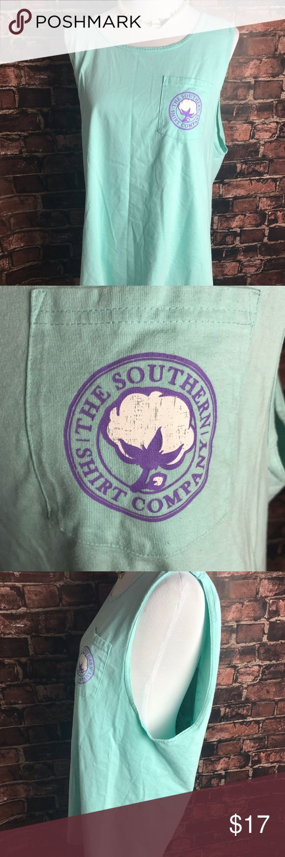 The Southern Shirt Company Cotton Logo Tank The Southern Shirt Company Cotton Lo…