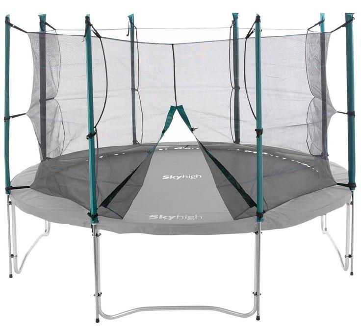 8ft Universal Trampoline Safety Enclosure