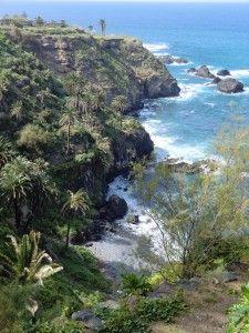 Entlang der Küste von Puerto de la Cruz, Teneriffa.