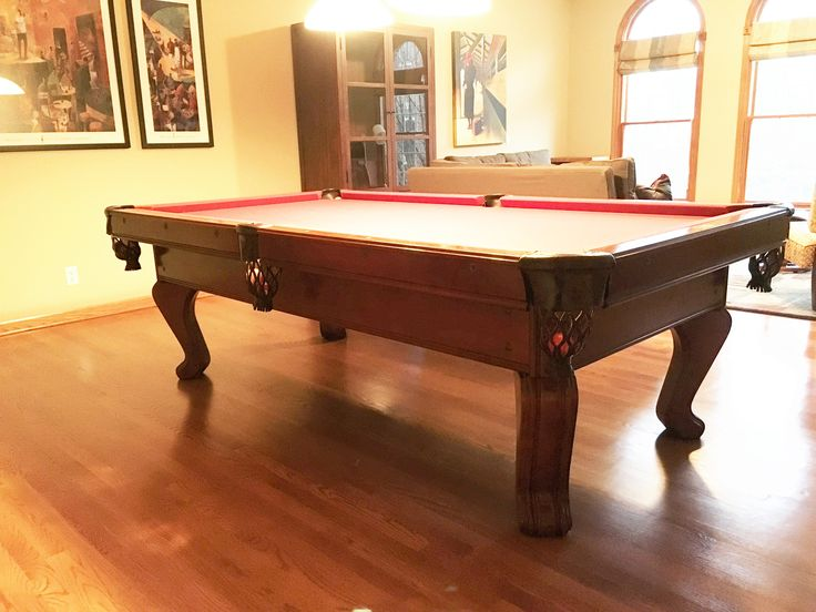 Brunswick Billiards Chateau 8 Pool Table Used Pool