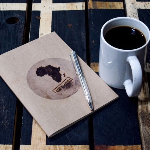 Made in Africa notebook.