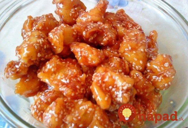 Kuracie kúsky na čínsky spôsob. Pripravte si ich podľa nášho receptu, ktorý nájdete na http://tojenapad.dobrenoviny.sk/kuracie-kusky-sezamovo-medovej-omacke/  #chicken #chinese #recept #recipe #tojenapad