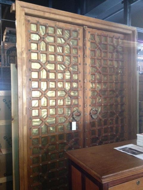 doors, copper, antiques