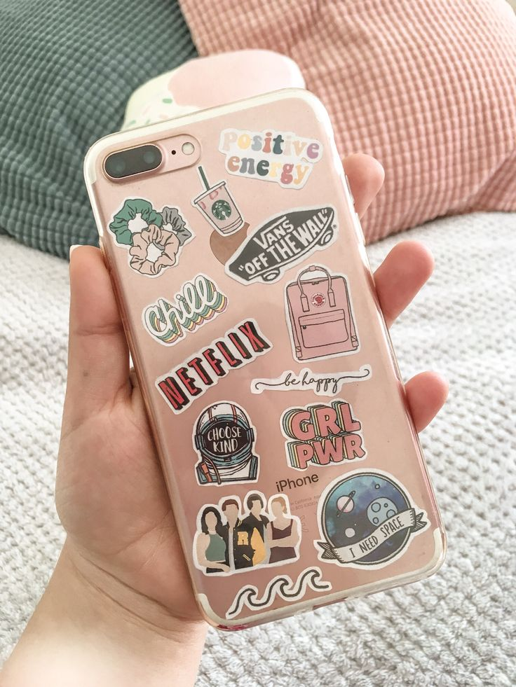 Phone case with stickers ✨ – Vsco