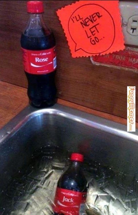 Funny memes Titanic sponsored by Coca-Cola... http://ibeebz.com