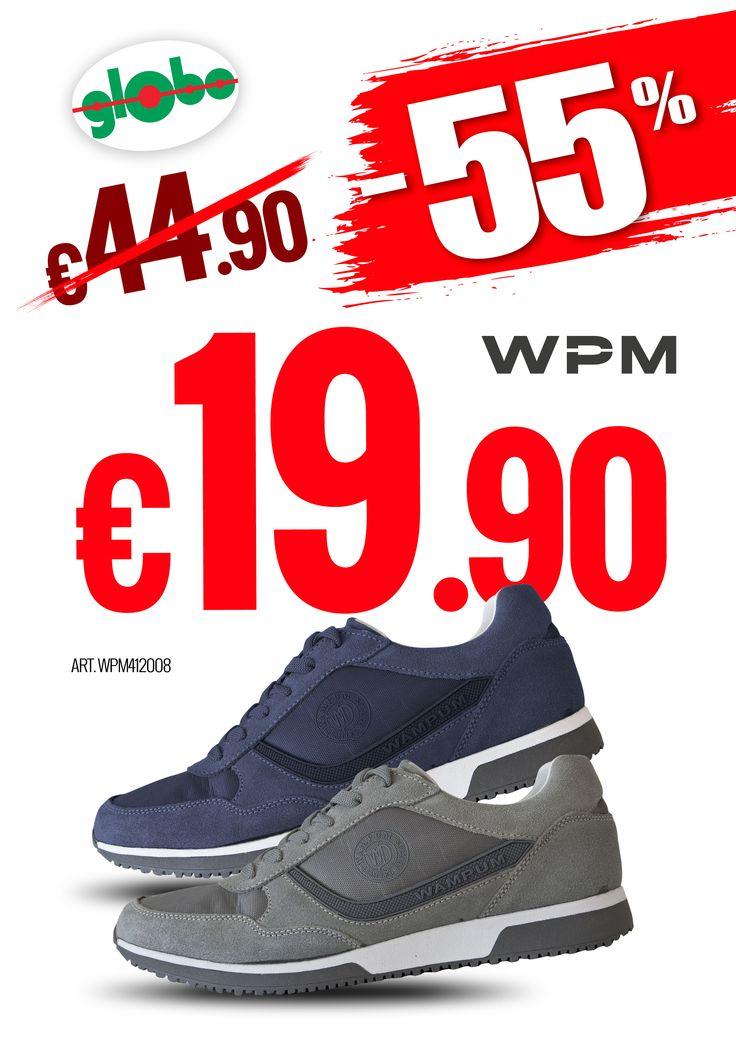 -55% Scarpe Wampum Uomo!!